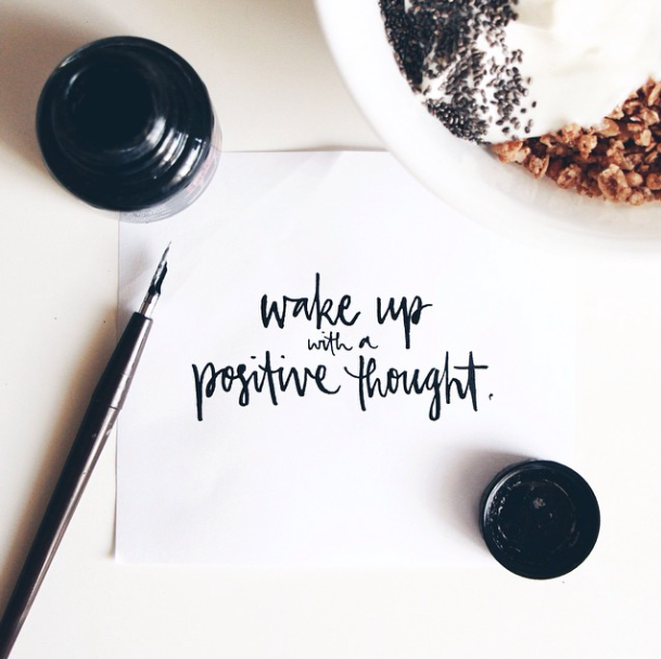 Wake Up With A Positive Thought